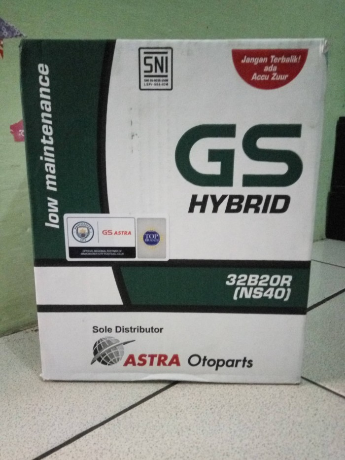 Aki mobil gs hybrid ns 40