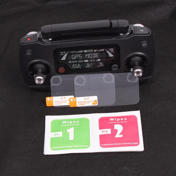 harga 2pcs Anti Gores Pelindung Layar Remote Full Screen Protector Dji Mavic Tokopedia.com