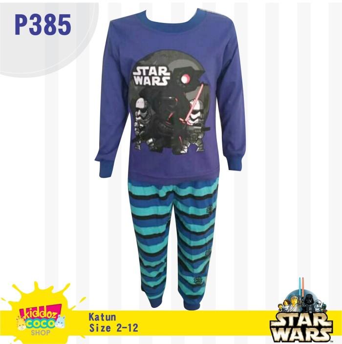 harga Setelan baju tidur anak laki-laki  star wars  (p385) Tokopedia.com