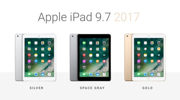harga [termurah] new ipad air 3 / ipad 5 / ipad 2017 32gb wifi only Tokopedia.com