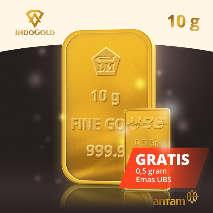 Jual Lm Antam 10 Gram Dapatkan Lm Ubs 05 Gram Indo Gold Os