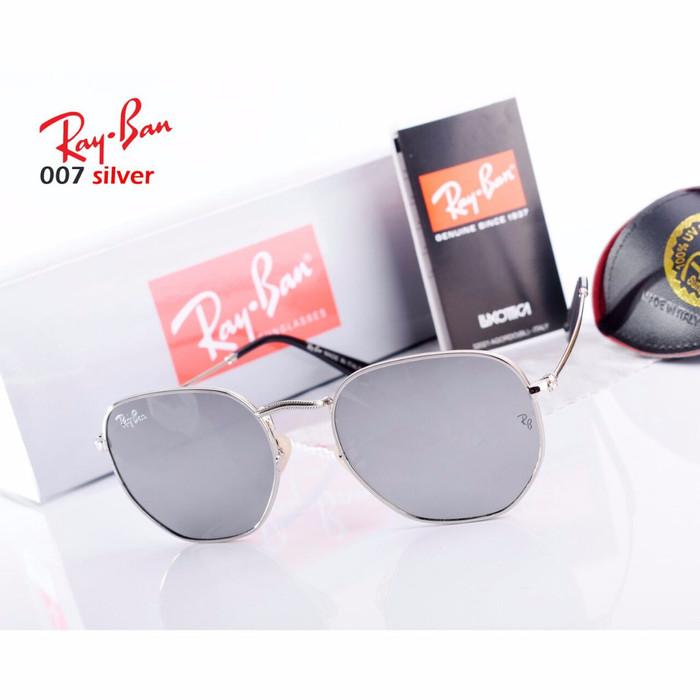 harga Glasses ray ban hexagonal serial 007 semipremium Tokopedia.com