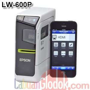 harga Epson lw-600p labelworks | portable & compact label printer Tokopedia.com