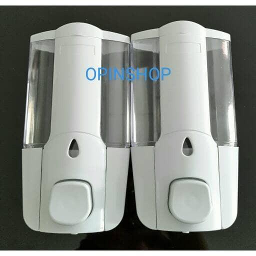 harga Tempat sabun cair dispenser dobel os -ts 48001-2 warna putih Tokopedia.com