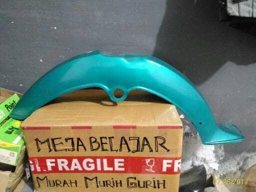 harga Slebor depan yamaha v75 v80 biru Tokopedia.com
