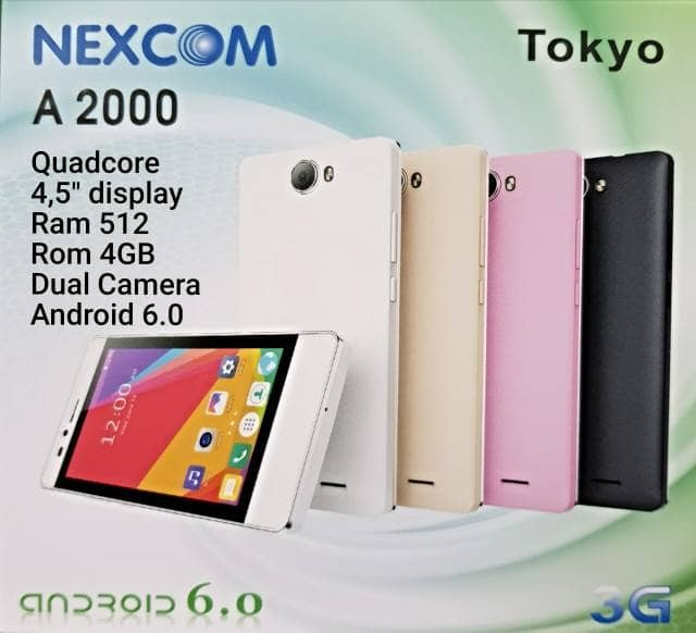 harga Nexcom a2000 tokyo ( android 3g ) Tokopedia.com