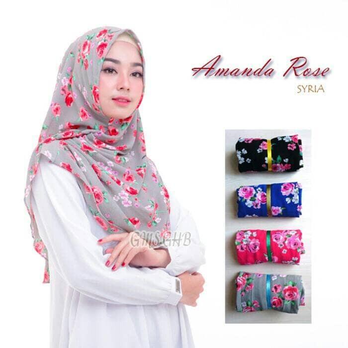 Montaza Hijab Pashmina Instan Kerudung Diamond Italiano Marsa Instan Source · amanda rose jilbab hijab kerudung khimar pashmina instan pastan cantik