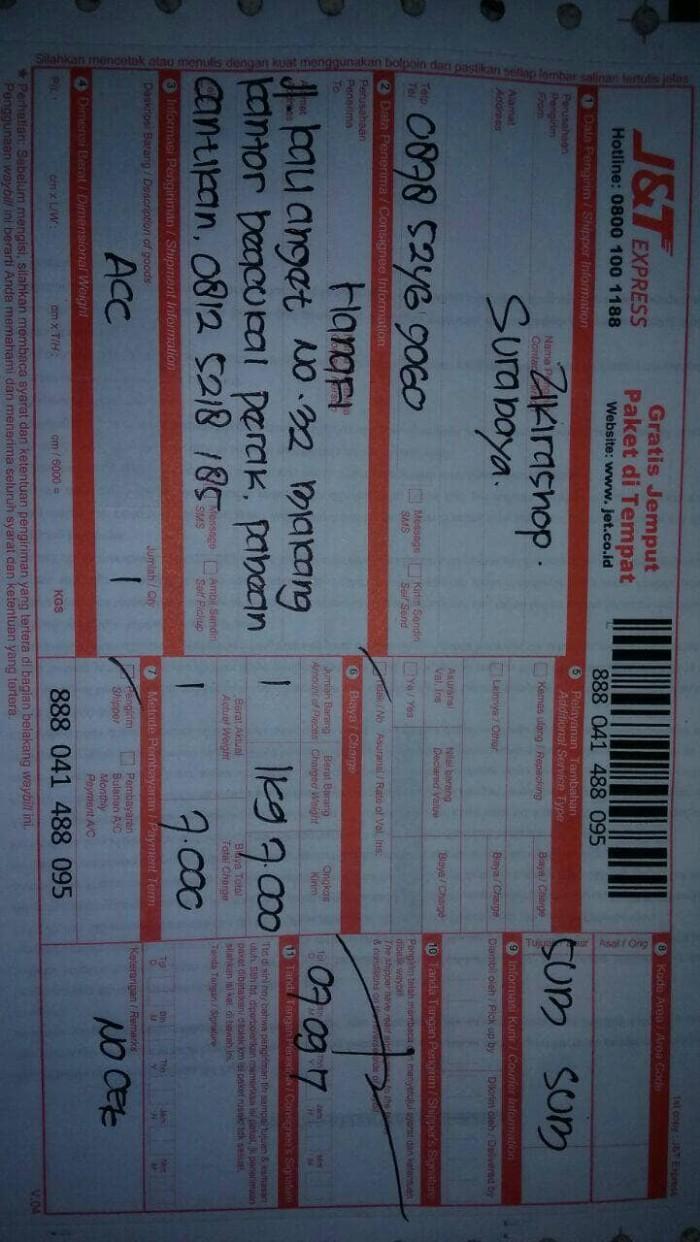 Contoh Surat Lamaran Kerja Di Jt Express Berbagi Contoh Surat