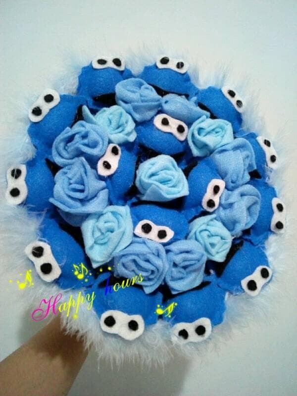 74c71e4d326 Jual buket bouquet boneka wisuda valentine kado cookie monster elmo ...