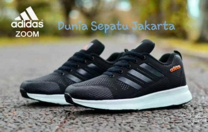 Sepatu spatu Adidas zoom pria vans pria olahraga sekolah running sport 3d038e28cc