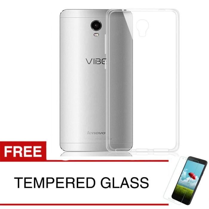 harga Crystal case for lenovo vibe p1 turbo - clear hardcase + temp glass Tokopedia.com