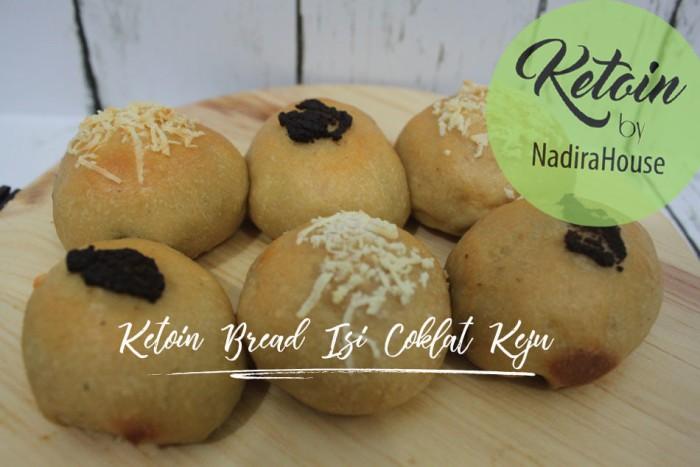 harga Roti keto ketofy bread isi coklat keju Tokopedia.com