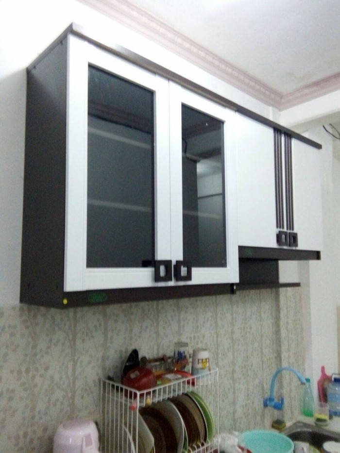 Jual Paket Mini Kitchen Set Lemari Gantung Rak Gantung 2 Pintu