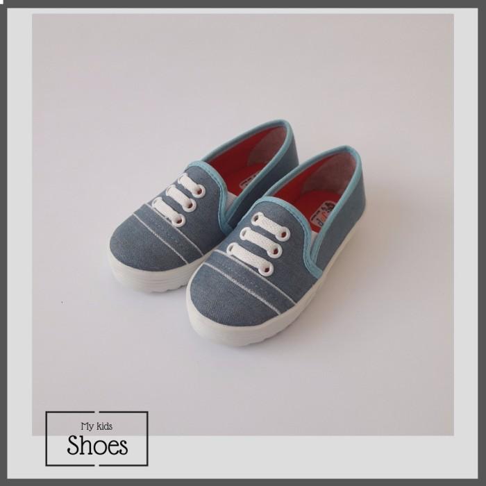 Minetha Kid Shoes Sepatu Anak Perempuan Balerina Flat Usia 1 12 Tahun / Jeans Brown/