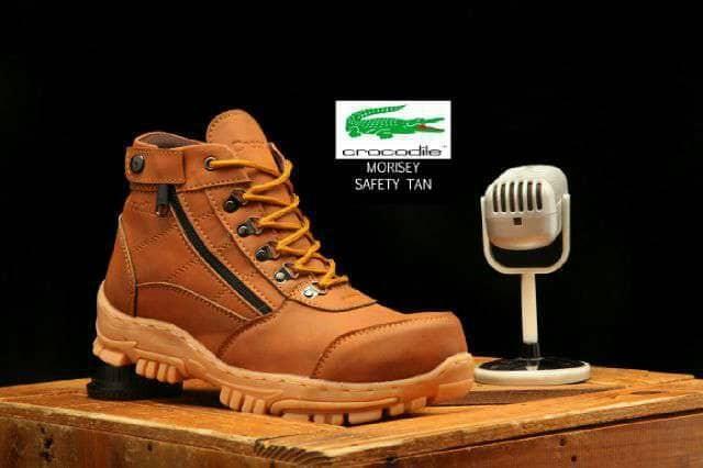 harga Sepatu safety crocodile/lacoste modis mantap Tokopedia.com