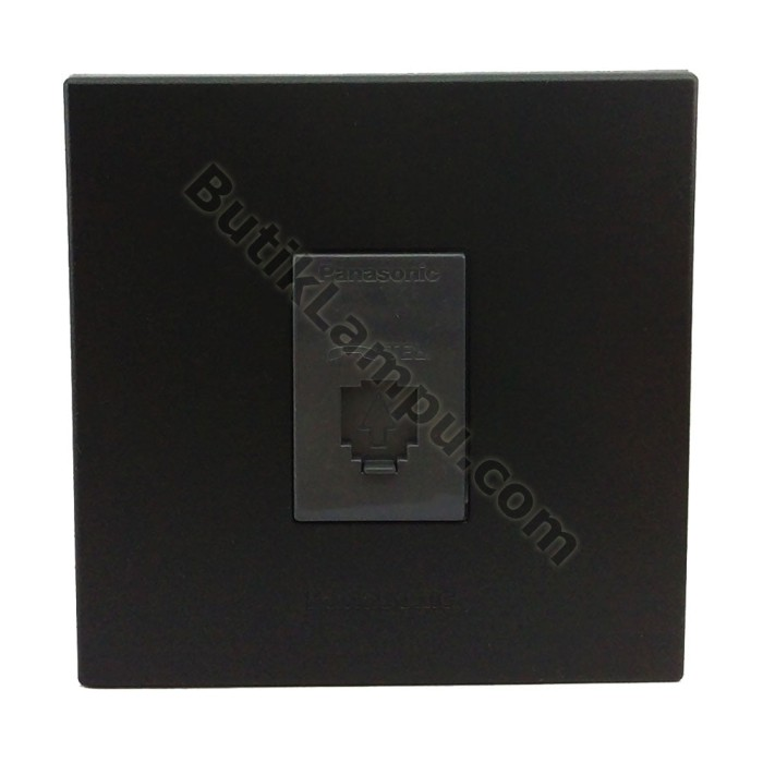 Foto Produk Outlet Telepon Socket Telepon Panasonic Style Black dari butiklampu