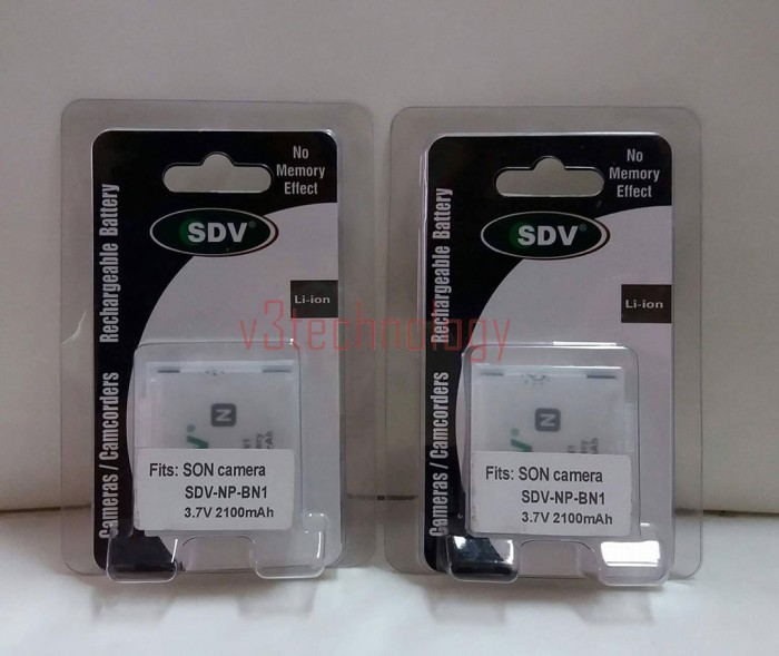 Battery SONY SDV NP-BN1 3.7V 2100mAh