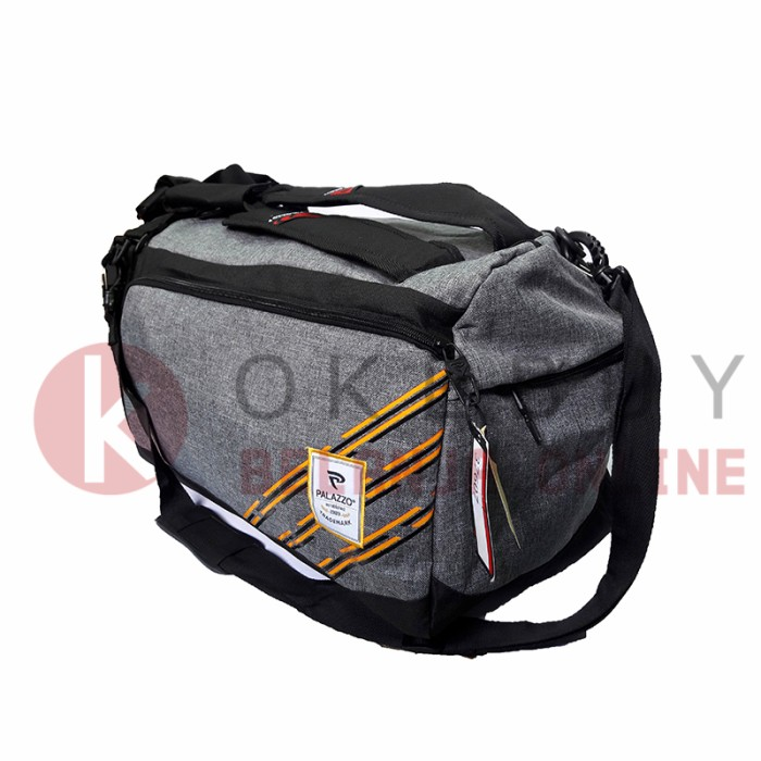 Tas palazzo 37607 travel gym sport bag 3in1 -selempang-jinjing-ransel