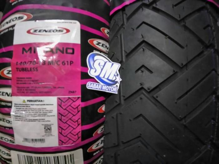 Ban Zeneos Milano 140 70 13 Tubeless Belakang Yamaha NMAX