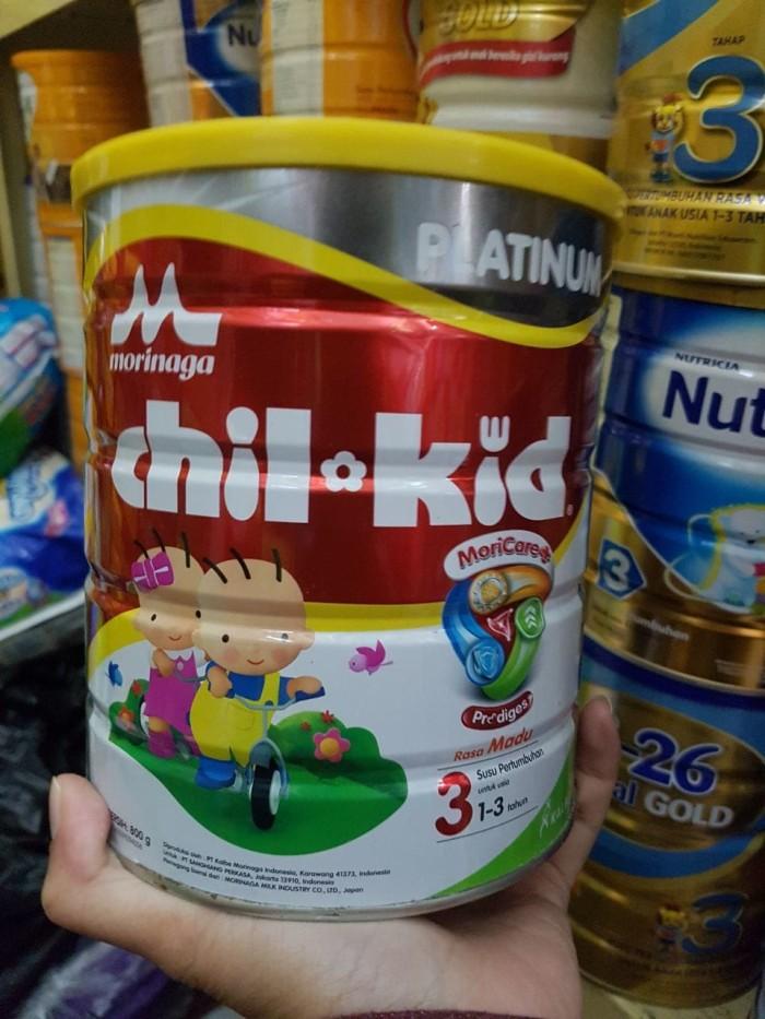 Morinaga Chil Kid 3 Platinum Madu 800g