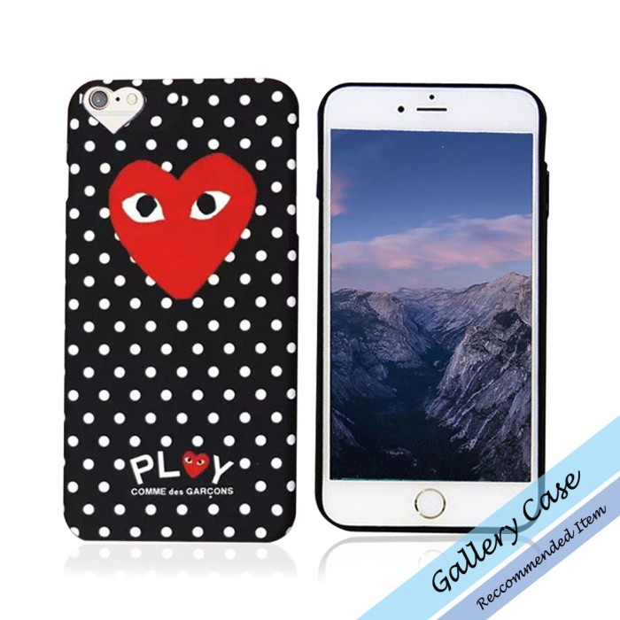 classic fit cf0a3 89fed Jual Comme Des Garcons CDG Play Case Iphone 6/6s /6plus/ 6splus/ 7/ 7plus -  Kota Medan - jelitashop8 | Tokopedia