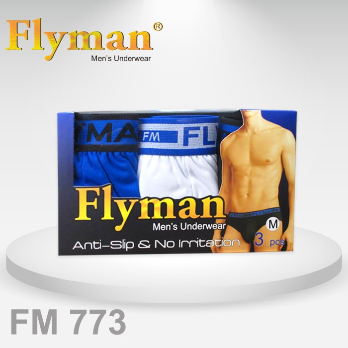 ... Flyman Midi Brief Dylon Pack FM 773 1 Pack isi 3 pcs