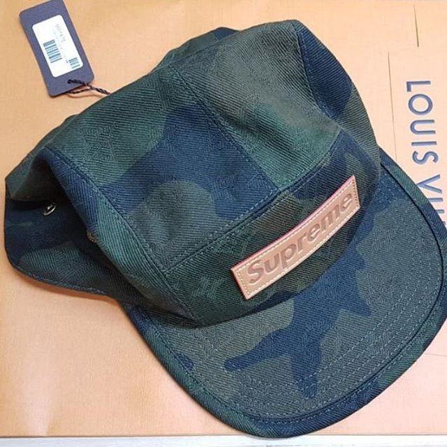 Jual Topi Louis Vuitton LV Supreme Camo Cap Original ... dba09ec63b5