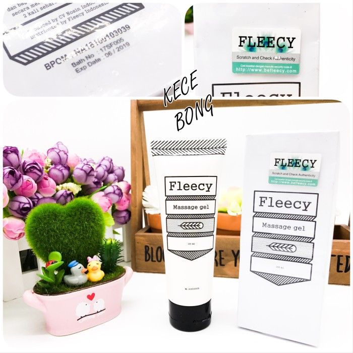 harga Fleecy slimming gel / lotion fleecy / original 100% / gel pelangsing Tokopedia.