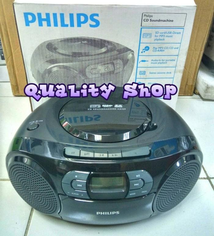 harga Mini compo philips kaset pita cd mp3 usb sd dan radio Tokopedia.com