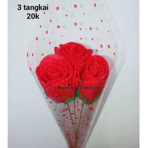 Jual Bunga Mawar Roses 3 Tangkai Kota Depok Annisa Flowers Tokopedia