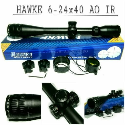 harga Telescope hawke 6-24x40 ao ir / scope hawke / teleskop hawke Tokopedia.com