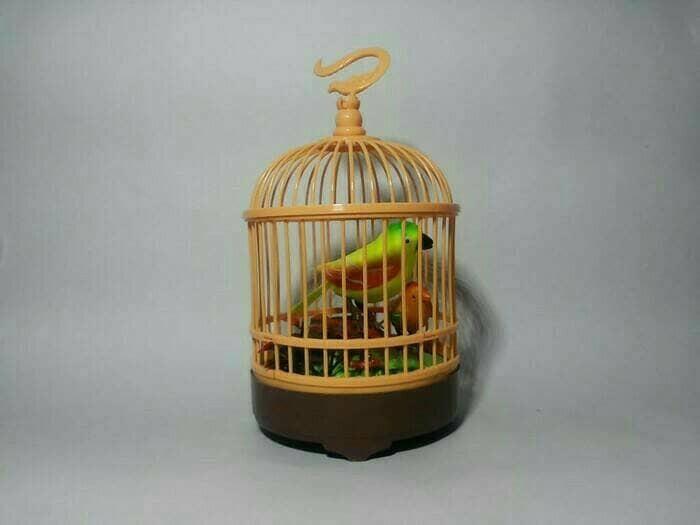 harga Mainan burung berkicau dalam sangkar Tokopedia.com