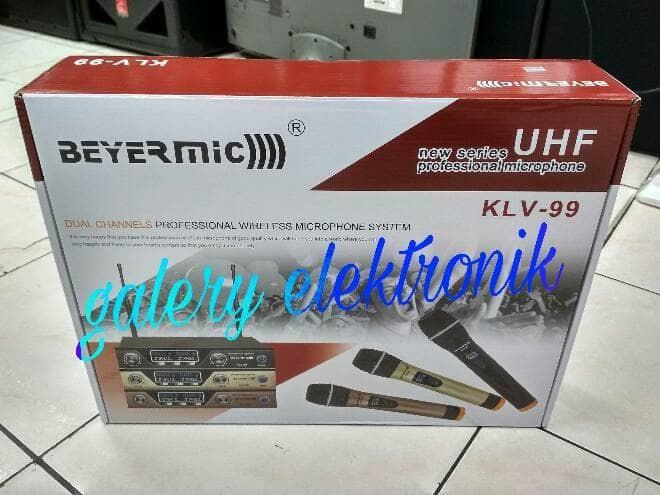 harga Mic wireless beyermic klv-99 Tokopedia.com