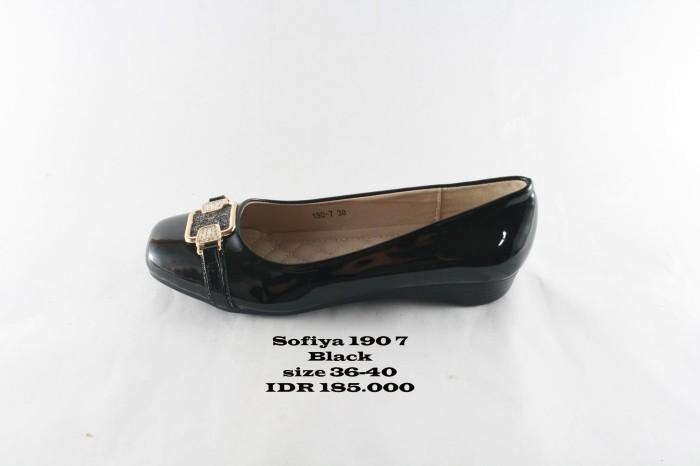 Jual sofiya 190 7 sepatu pantofel wanita hitam - batikchiara  2fae28bbd8