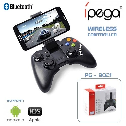 Foto Produk Bluetooth Stick Gamepad Ipega PG-9021 For Android and IOS With Holder dari 1D Gadget