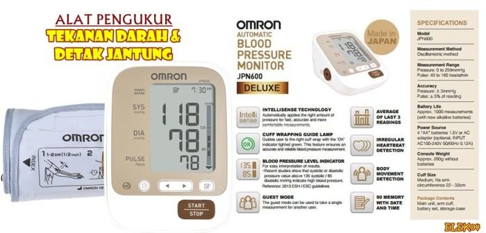 harga Elek04 omron automatic blood pressure monitor jpn600 Tokopedia.com