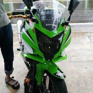 Jual Winglet Sayap Fairing Tambahan Ninja 250 Rr Mono Ninja 250 Sl Fiber Jakarta Timur Delapan Belas Group Tokopedia