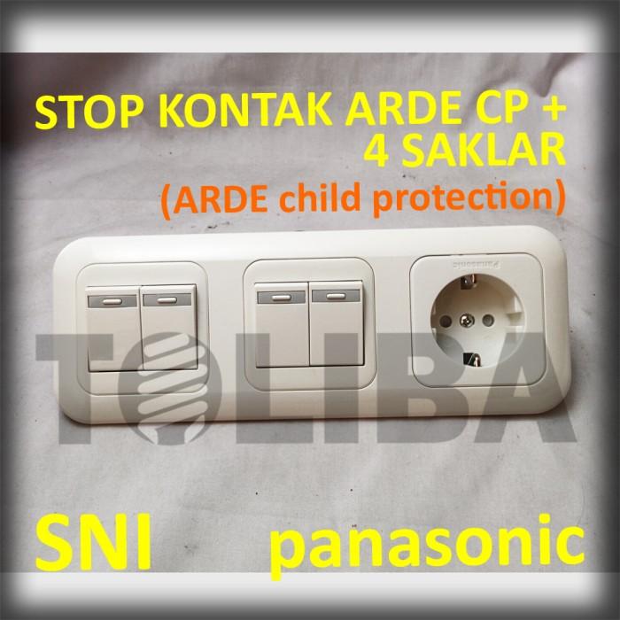 Jual Stopkontak Stop Kontak Arde Cp Saklar Seri Double Inbow Ib Panasonic Jakarta Barat Toliba Tokopedia
