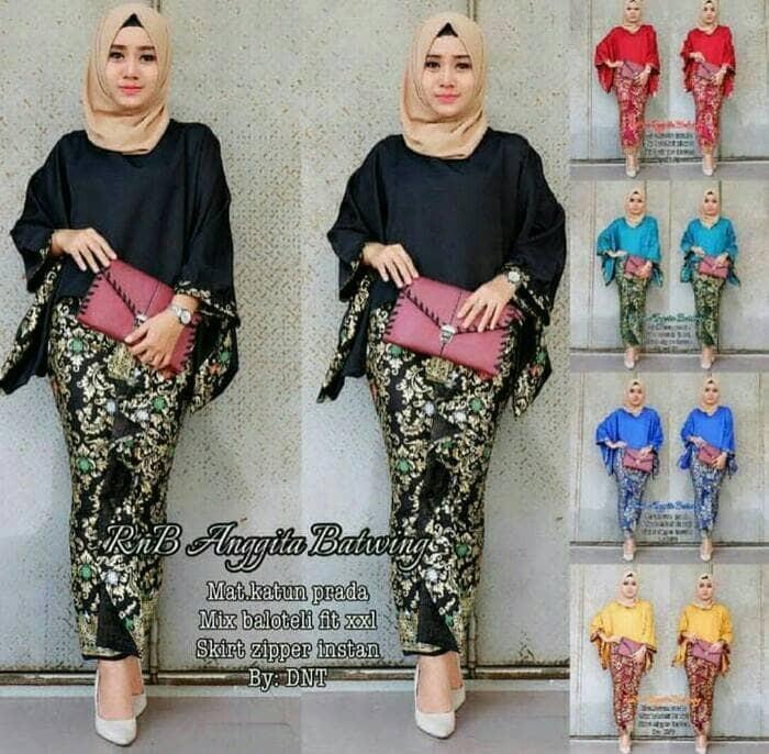 Jual Batik Kebaya Wanita Kutubaru Seragam Pesta Hijab Baju Muslim Modern Dki Jakarta Amalia Collection29 Tokopedia