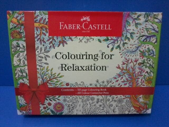 COLOURING BOOK FABER CASTELL