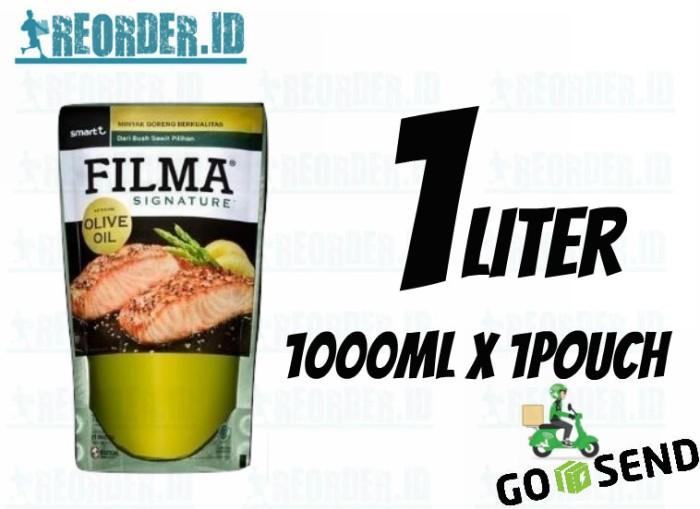 harga Filma signature olive oil minyak goreng pouch 1 liter Tokopedia.com