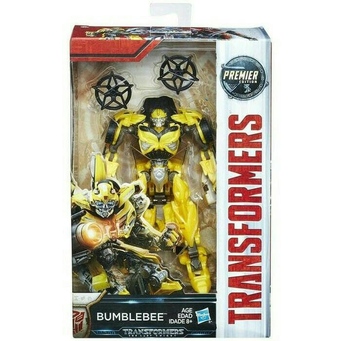 The Last Knight Premier Edition Deluxe Strafe Transformers Premier Action Figure