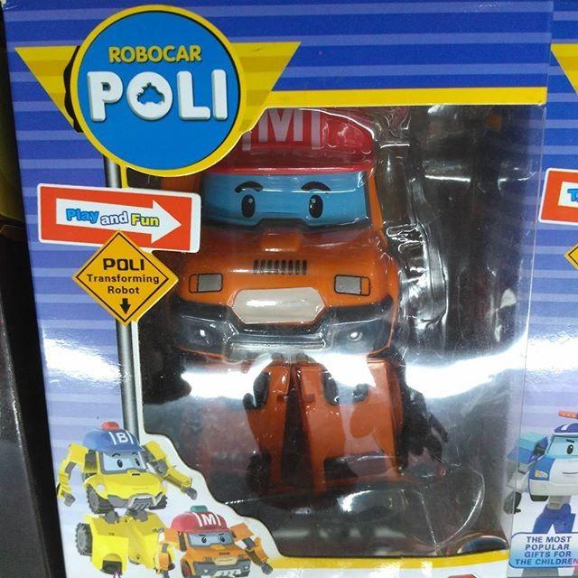 Robocar Poli Transformable Mainan Mobil Robot Berubah Amber Cek Source · robocar poli mark transformer mobil