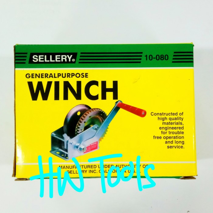 harga Hand winch / boat winch / kerekan katrol 1200 lbs sellery 10-080 Tokopedia.com