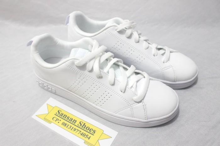 ... harga Sepatu adidas neo advantage clean full white original indonesia  Tokopedia.com 73236a4e4a