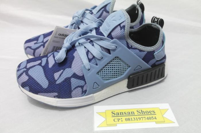 f58945226d666 Jual Sepatu Adidas NMD R1 x Bape Duck Camo Blue - DKI Jakarta ...
