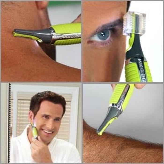 Micro Touch Max Trimmer Cukur bulu Alis Hidung Rambut hair remover .