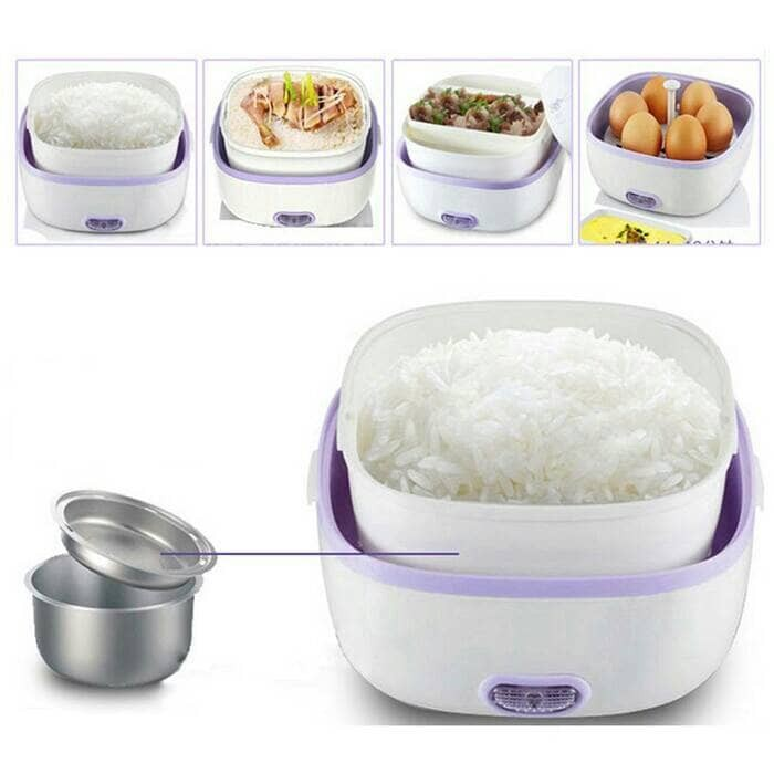 harga Mini rice cooker - magic com -lunch box electric elektrik penanak nasi Tokopedia.com
