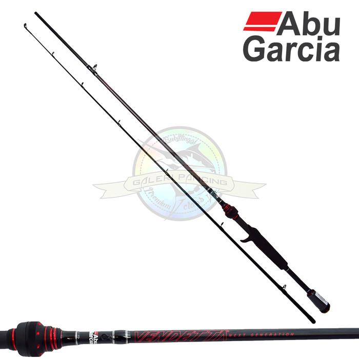 harga Joran bc abu garcia vendetta next generation 632m - 190cm - fuji Tokopedia.com