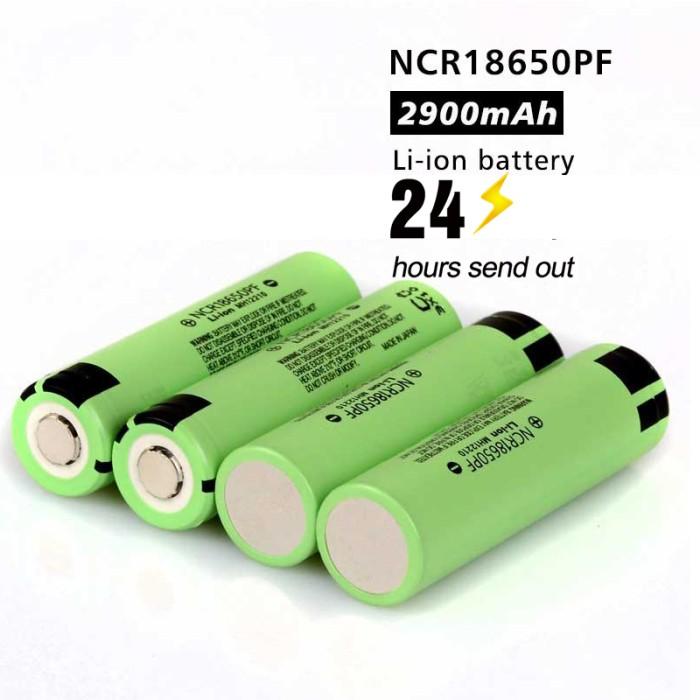 harga Baterai lithium ion 18650 original panasonic ncr18650pf 3.7v 10a Tokopedia.com